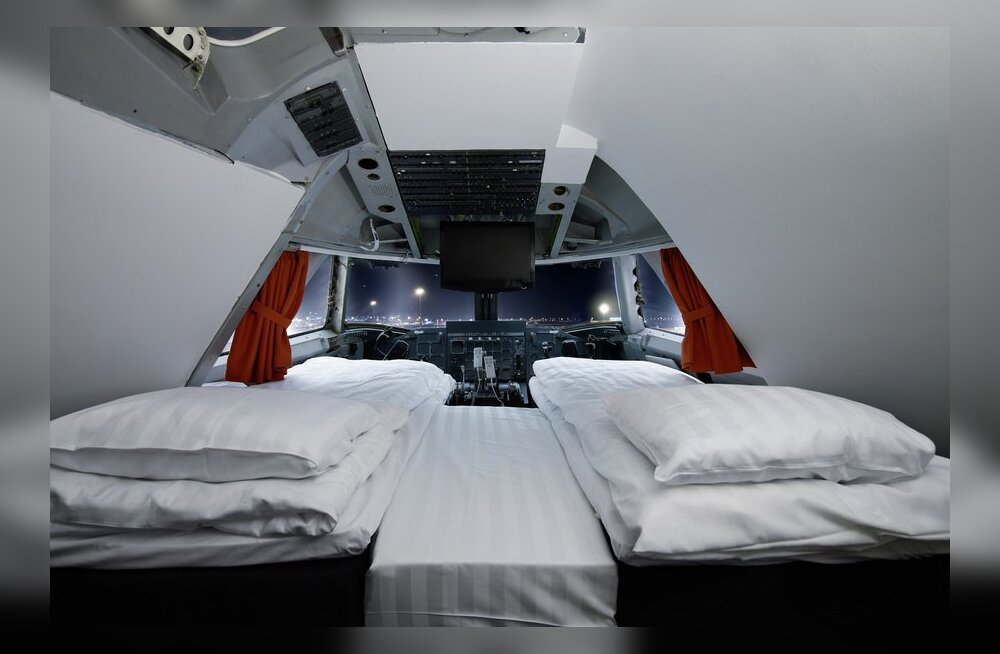 Boeingust ehitati hotell - lennukisse saab tulla öömajale