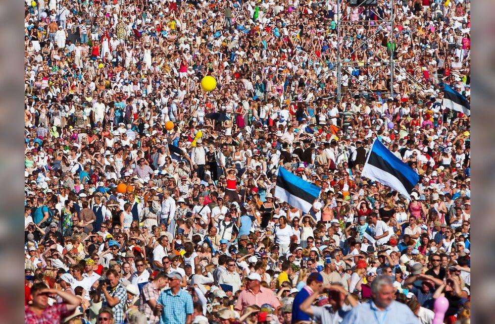 ЦРУ считает, что население Эстонии составляет лишь 1,283 миллиона