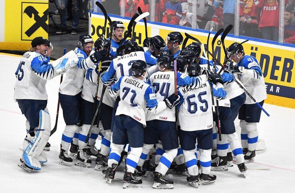Soome hokikoondis mängib MM-il finaalis