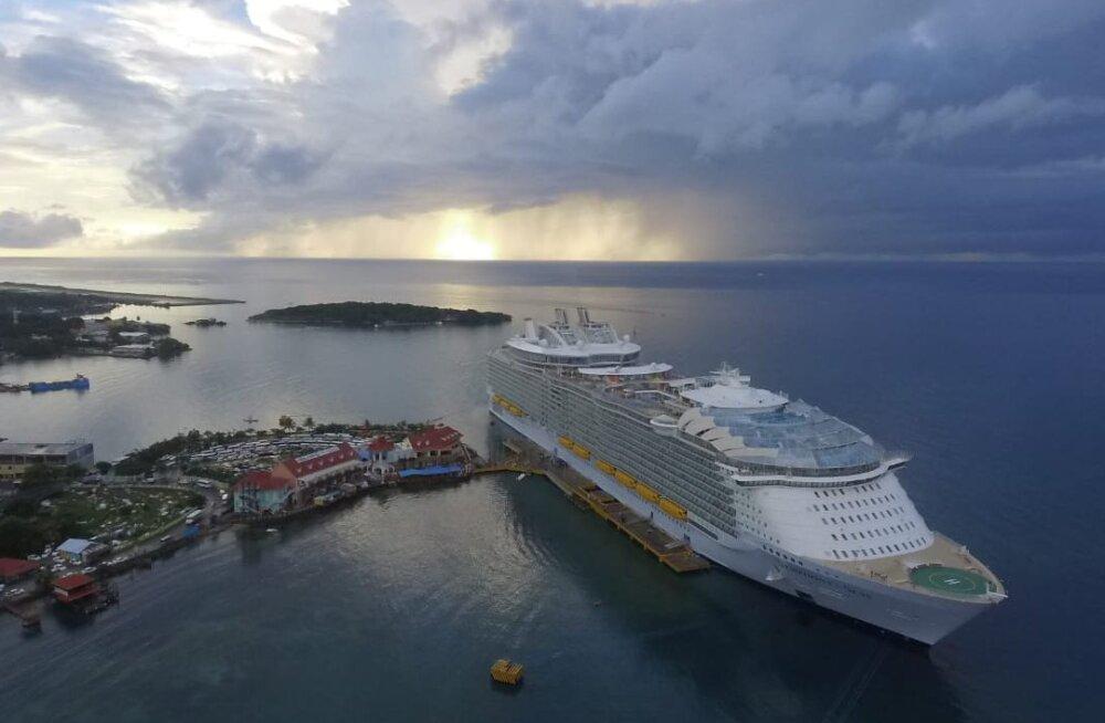 Soome iluuisutaja on kaks kuud maailma suurimal kruiisilaeval lõksus olnud