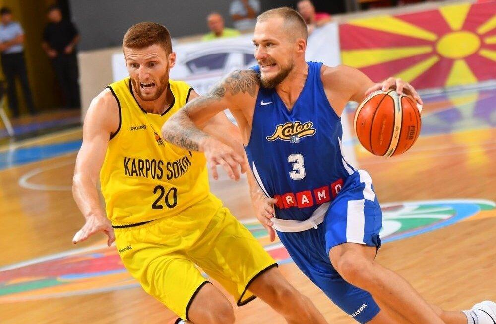 Martynas Mazeika oli Skopjes Kalev/Cramo resultatiivseim