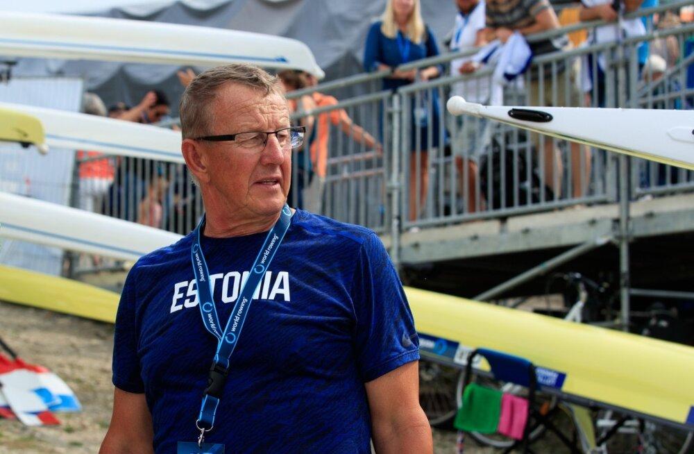 Meeste neljapaat sõudmise MM-il Austrias 29.08.2019