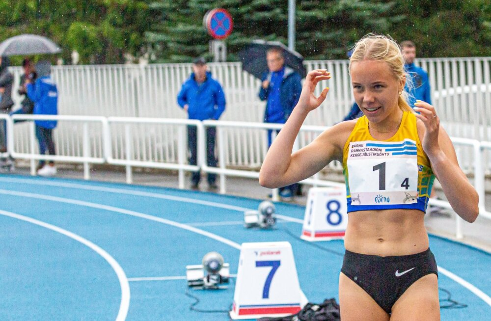 Ann Marii Kivikas oli juba 17-aastaselt Eesti kõigi aegade edetabeli neljas.