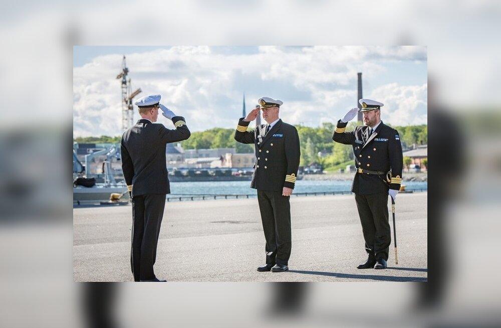 Mereväe laevastiku ülemaks määrati kaptenleitnant Peeter Ivask