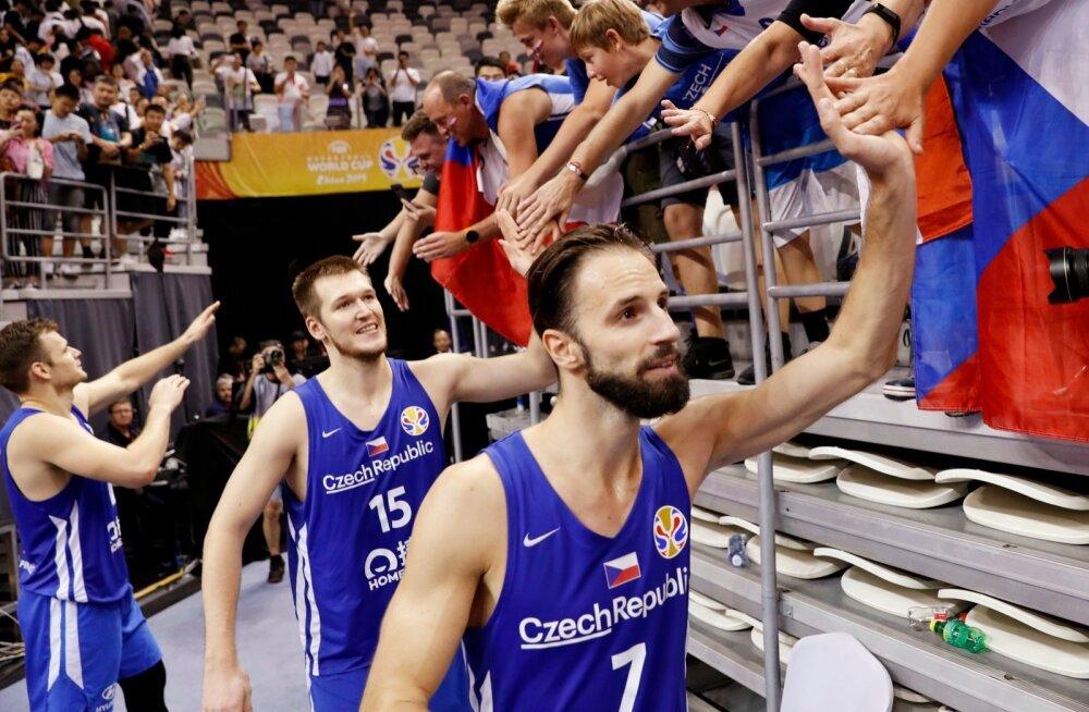 Tšehhi korvpallikoondis mängib MM-il 5.-6. koha peale.