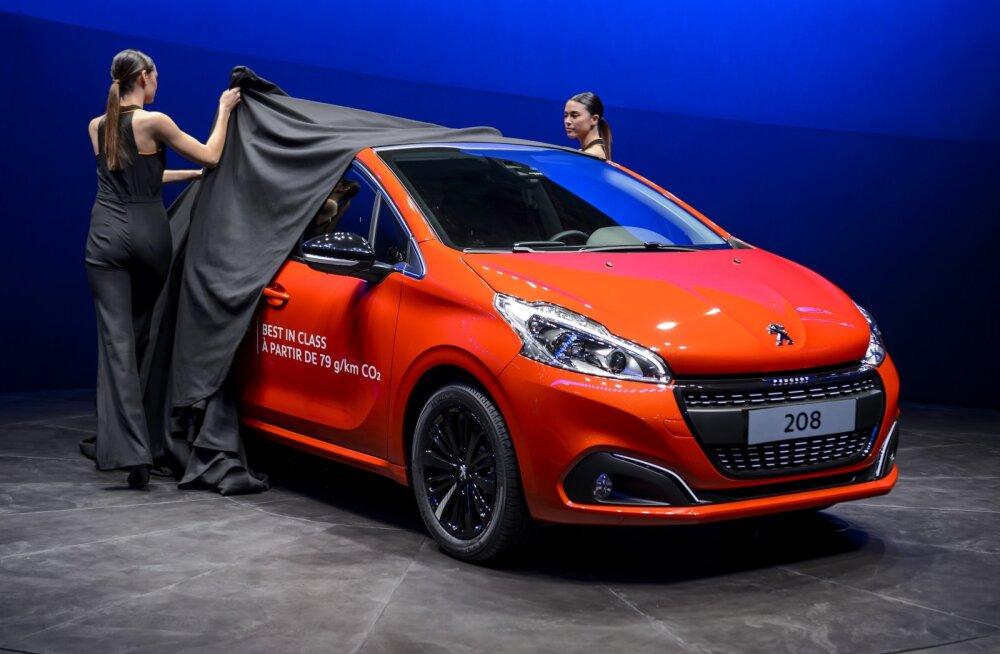 Madalaima kütusekulu rekord: uus Peugeot 208 tarbis vaid 2 liitrit kütust sajale kilomeetrile