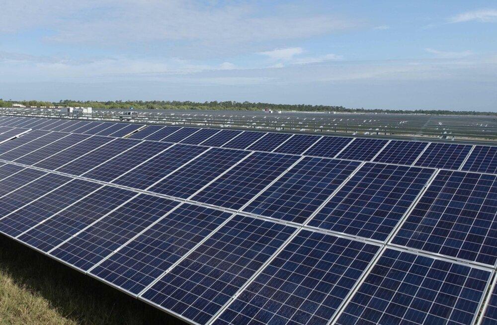 Eesti Energia plaanib Ruhnu lennuväljale päikeseelektrijaama
