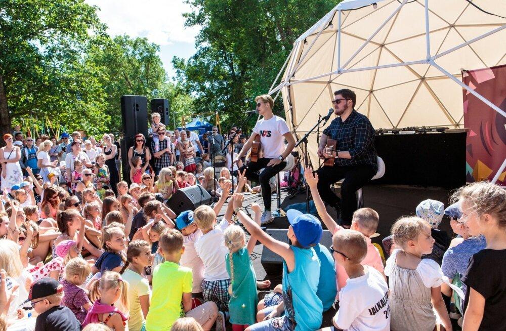 1b4f1bafd61 FOTOD | Rõõmsate Laste Festival Pärnus — vaata, kuidas Taukar noori ...