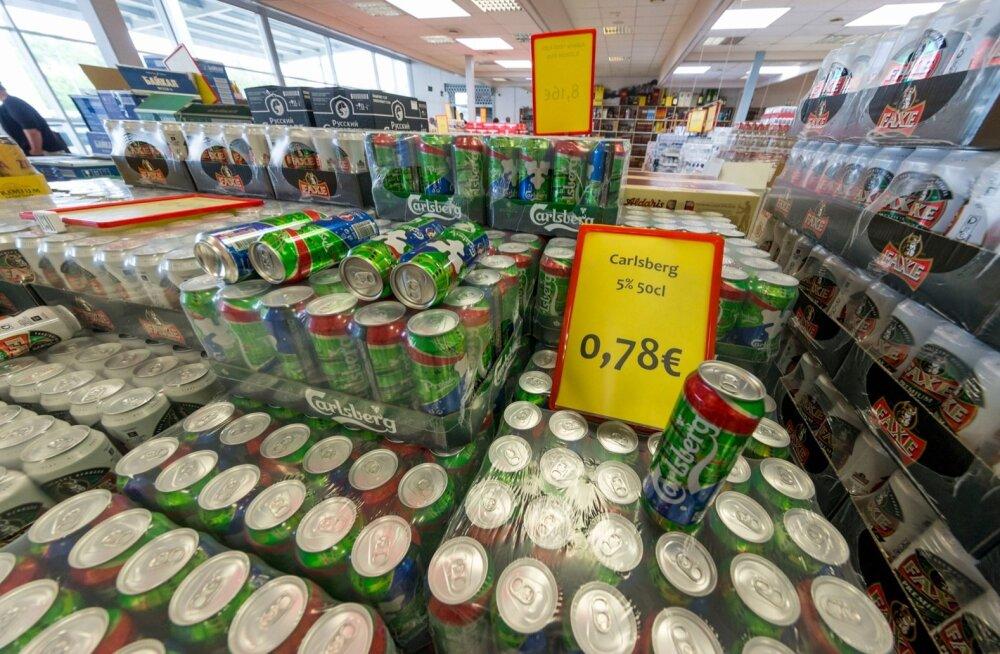 Uusküla: alkoholi aktsiisilaekumistega on probleem