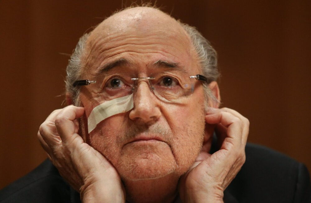 Blatter: ma pole kedagi tapnud ega panka röövinud