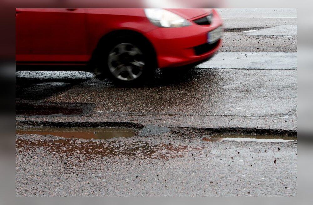 Üks löökauk võib autole 1000eurose kahju tekitada