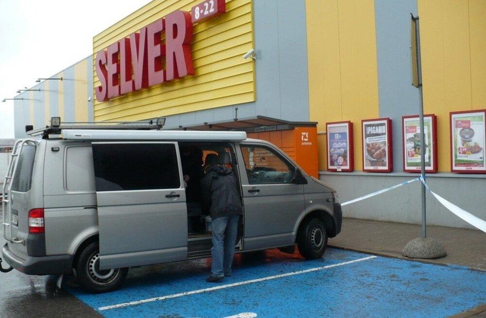 Полиция оцепила Selver в Кохтла-Ярве