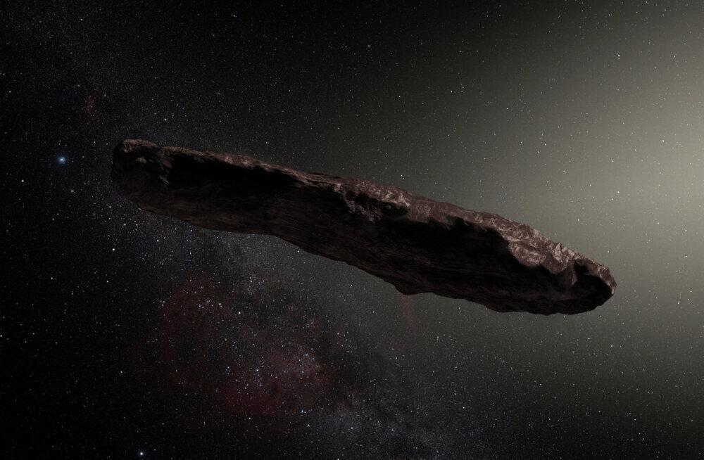 Ebaharilik taevakeha Oumuamua saabus meie kanti ilmselt kaksiktähesüsteemist