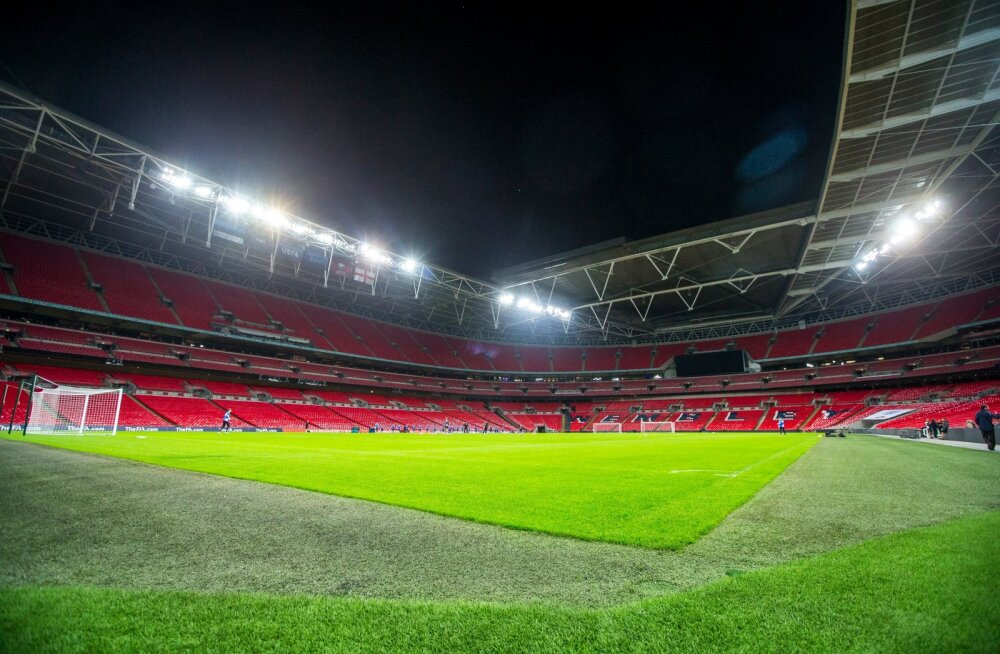 Eesti koondise trenn Wembleyl