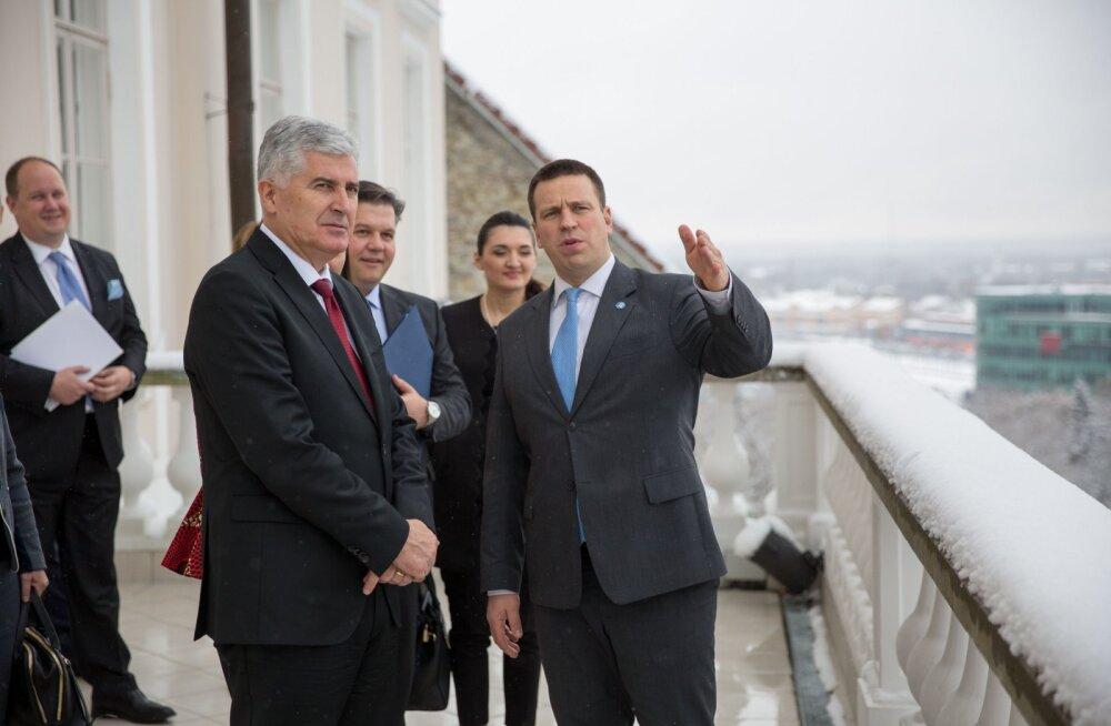 Юри Ратас: Эстония поддерживает политику расширения Европейского союза