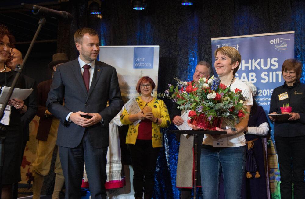 TOUREST 2019 | Aasta turismiedendajaks kuulutati Kadri Jalonen ja aasta turismiobjektiks Ajaloomuuseumi Maarjamäe loss