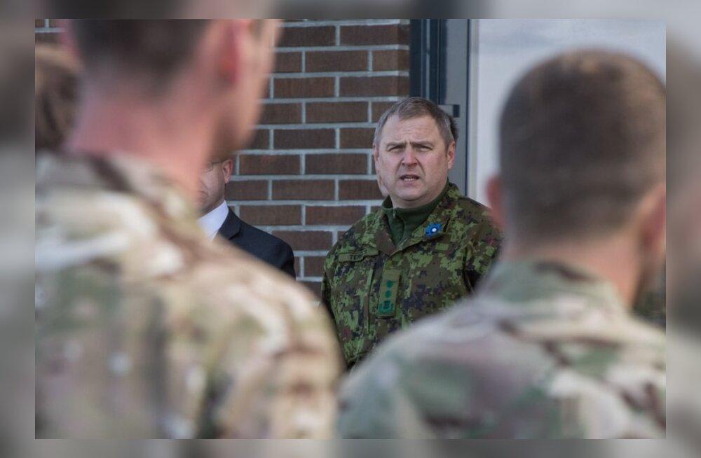 Briti kaitseminister Philip Hammond saabus Ämarisse koos 90-liikmelise Briti jalaväekompaniiga