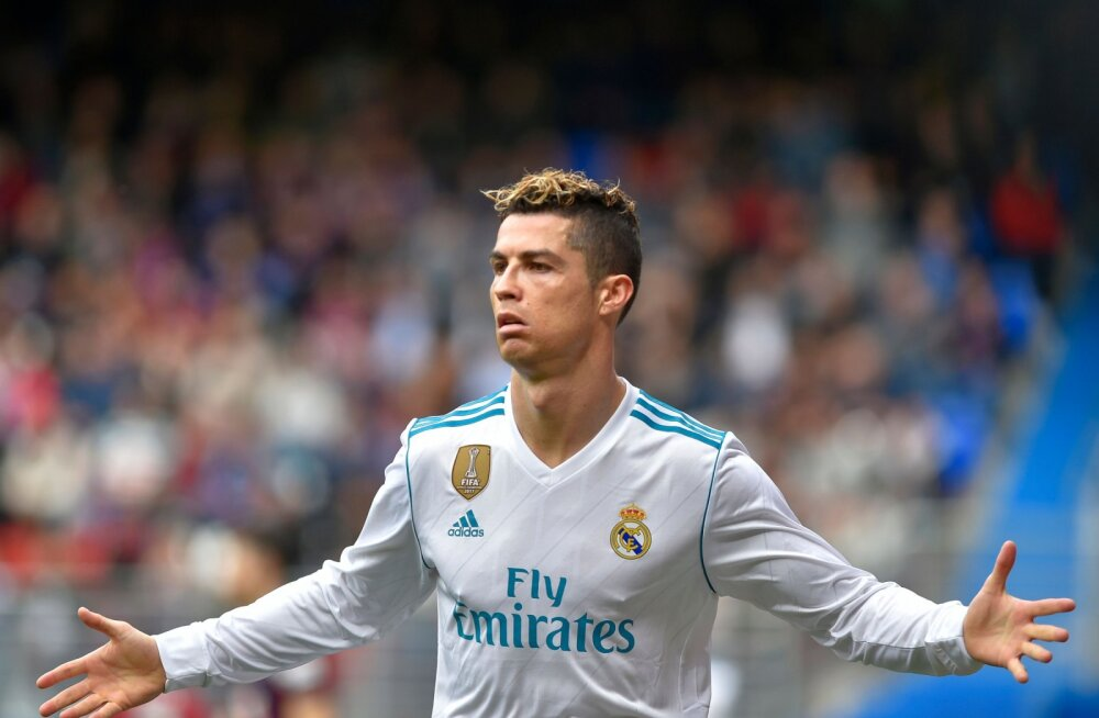 VIDEO | Ronaldo kaks väravat aitasid Reali napi võiduni