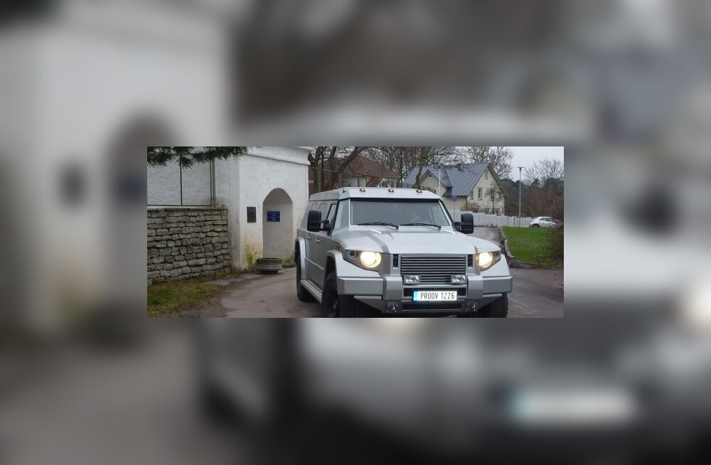 Rahumeelse Eesti esimene seeriaauto on hardcore soomusdžiip