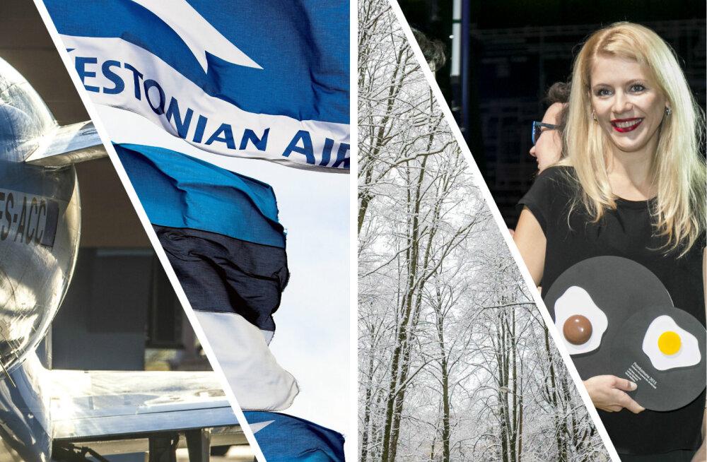 HOMMIKUBLOGI: Estonian Airi valedele otsustele järgnesid veel hullemad, õhtul toimub suur Kuldmuna gala, nädalavahetusel läheb veelgi külmemaks