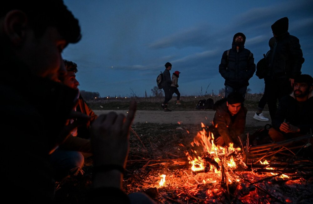 Türgi julgustas pagulasi suunduma Kreeka piirile - neid tõmmati haneks
