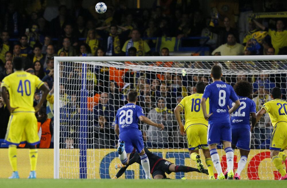 Eden Hazardi ragbi-stiilis penalti