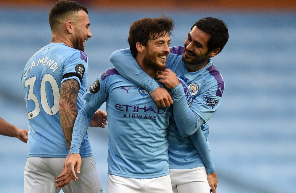 Manchester City sai hakkama ajaloolise saavutusega