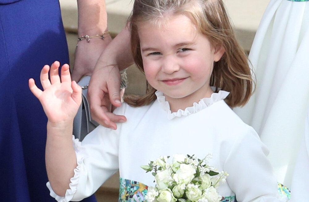 VAATA | Hirmnaljakas! Vaata, milliseks pidi fännide meelest sirguma 4-aastane printsess Charlotte
