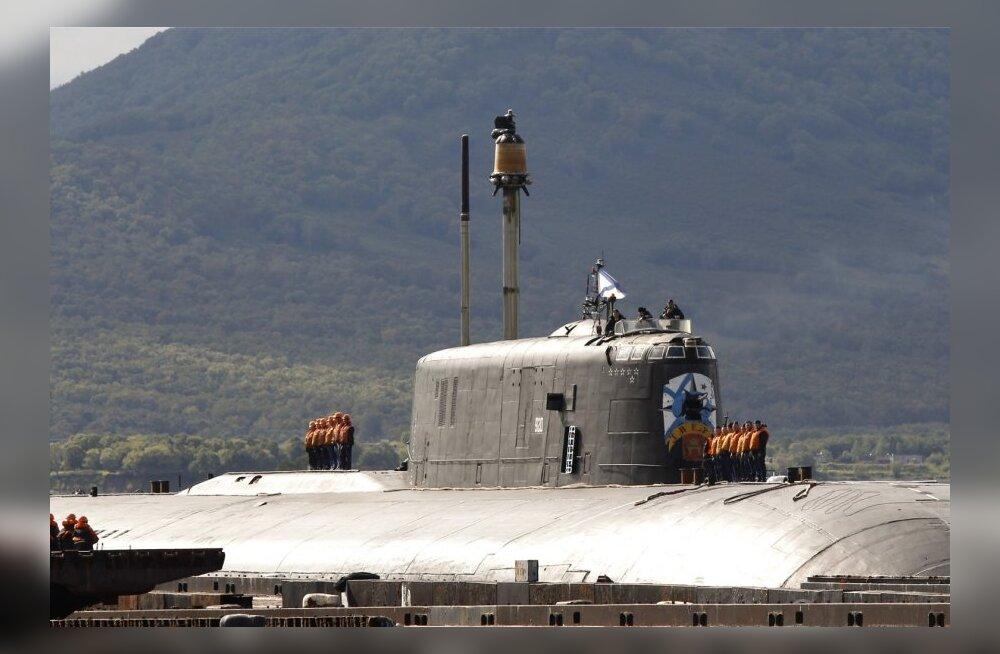 Murmanski oblastis toimus tulekahju tuumaallveelaeval Krasnodar