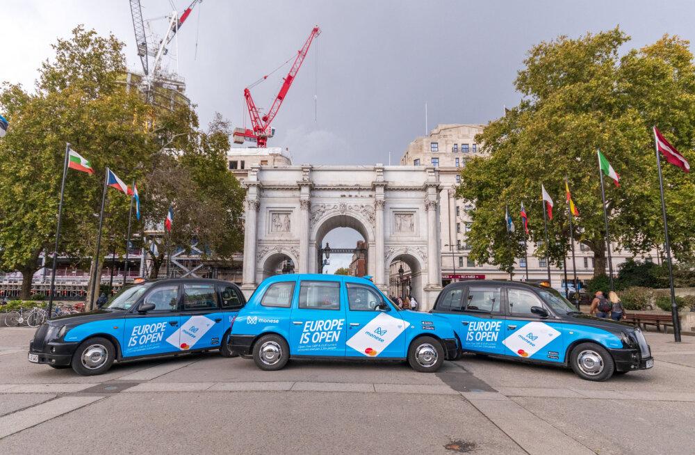 FOTOD   Londonis korraldas Brexiti-aktsiooni Eesti ettevõte