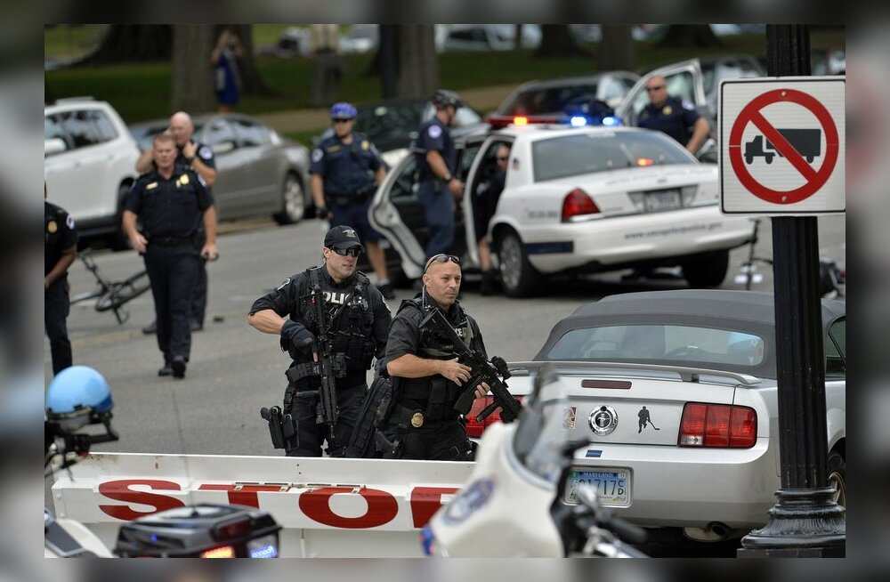 Washingtonis toimus täna ulatuslik politseioperatsioon