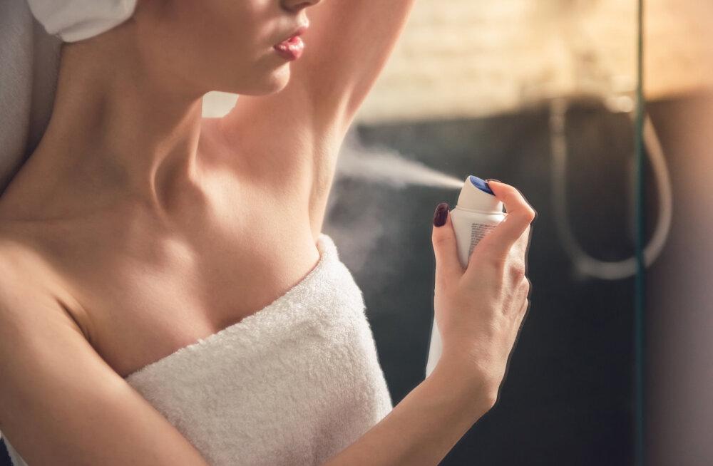 Oluline teada! Suurimad vead, mida deodoranti kasutades tehakse