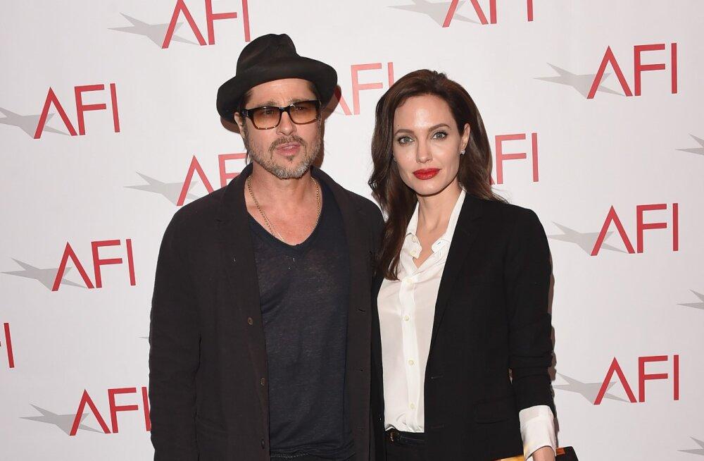 Brad Pitt ja Angelina Jolie hakkasid koos äri tegema!