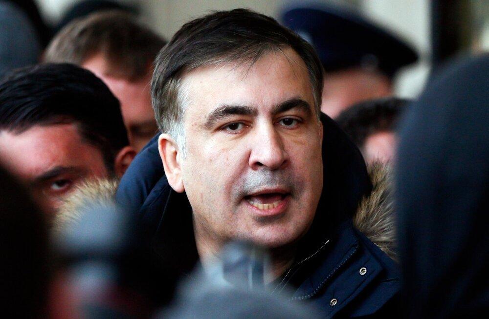 VIDEO   Kiievis vahistati taaskord Mihheil Saakašvili