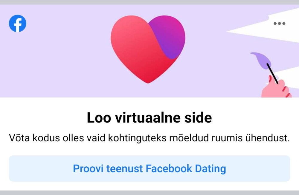 Väljakutse Tinderile: Facebook käivitas täna Eestis oma kohtingulahenduse