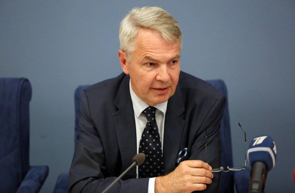 Soome välisminister Haavisto kutsus Financial Timesis pingutama suhete parandamiseks Venemaaga