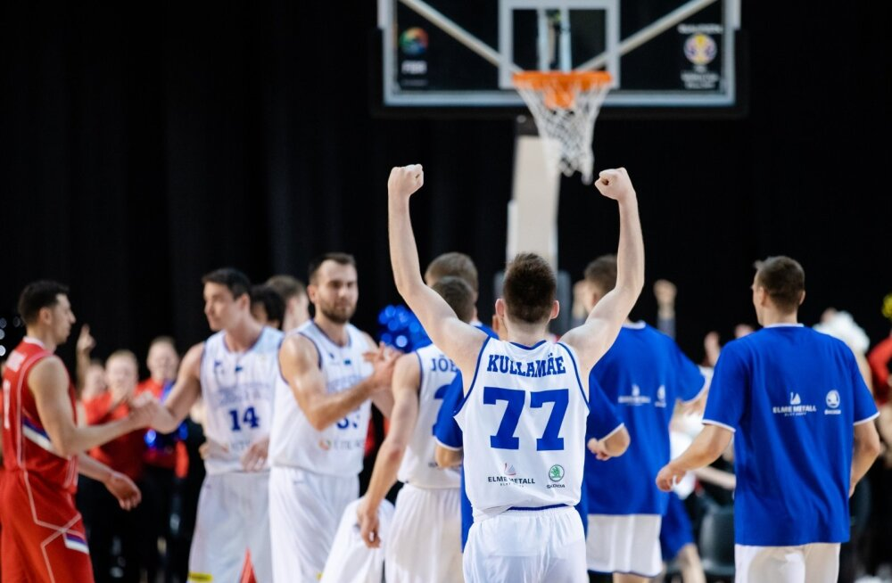 Korvpall Eesti vs Serbia