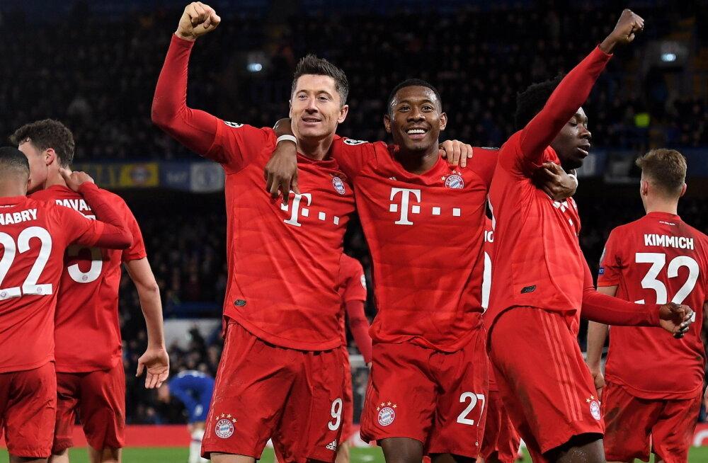 BLOGI | Meistrite Liiga: Barcelona naaseb Itaaliast väärtusliku võõrsilväravaga, Bayern ühe jalaga veerandfinaalis