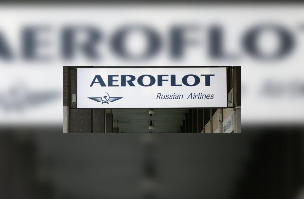Gripihullus: Aerofloti reisi hoiti 2 ööpäeva kinni