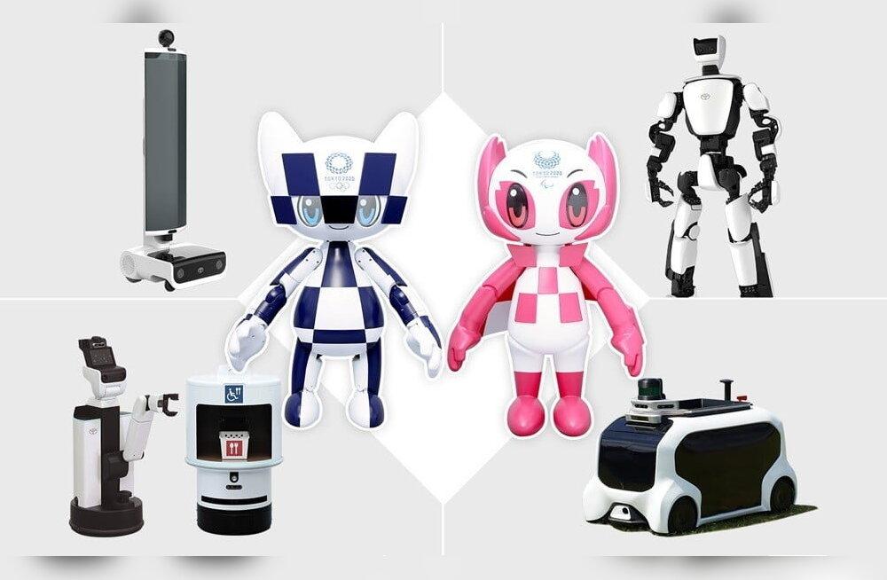 Toyota robotid aitavad täita inimeste unistust osaleda 2020. aasta Tokyo olümpia- ja paraolümpiamängudel