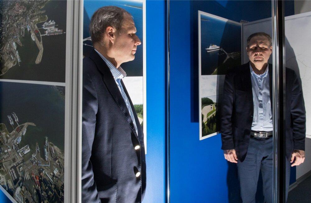 Tallinna Sadama juht Valdo Kalm viib börsile nelja suurema ärisuunaga ettevõtte, kus kiireimat kasvu näitab reisijate teenindamine.
