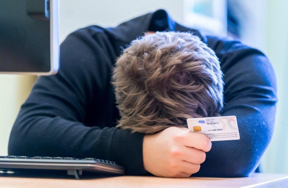 Hiljutine ID-kaardi kriis tekitas palju pahandust.