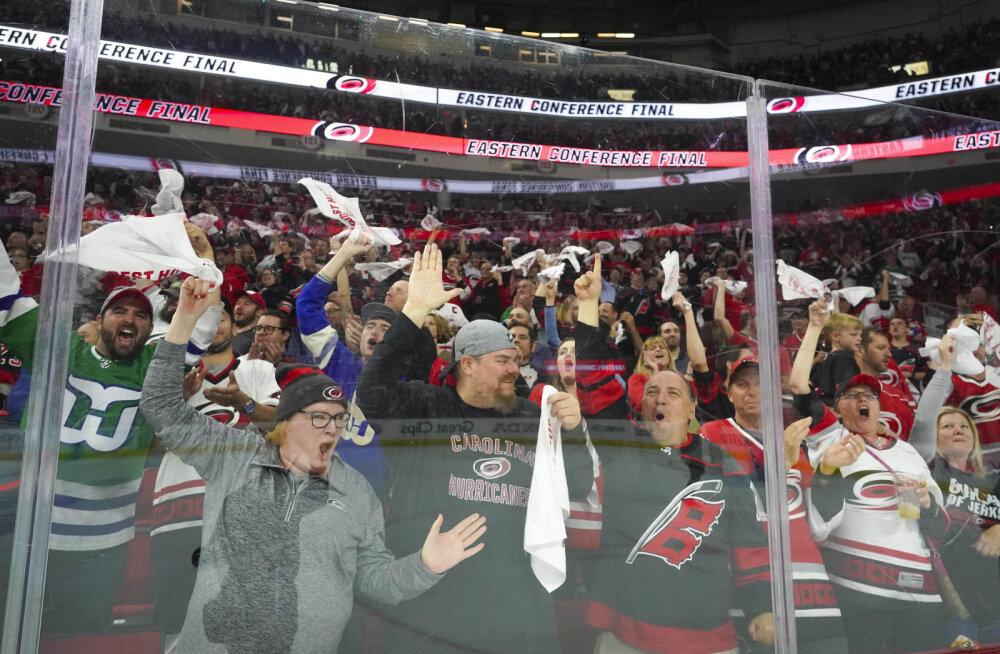 NHL-is play-off'i avaringis kõige kauem pusinud meeskond jõudis esimesena konverentsi finaali