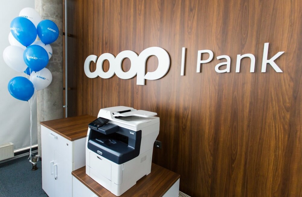 Coop panga kontori avamine Pärnus