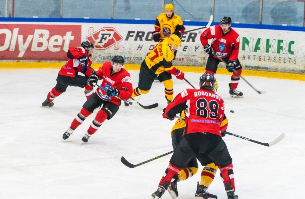 Jäähoki -  Narva PSK vs Tartu Välk