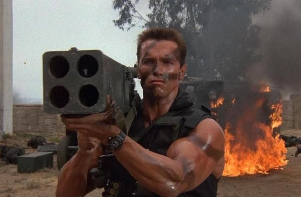 "Kinoklassika sari alustab aastat Schwarzeneggeri karmi märuliga ""Komando"""