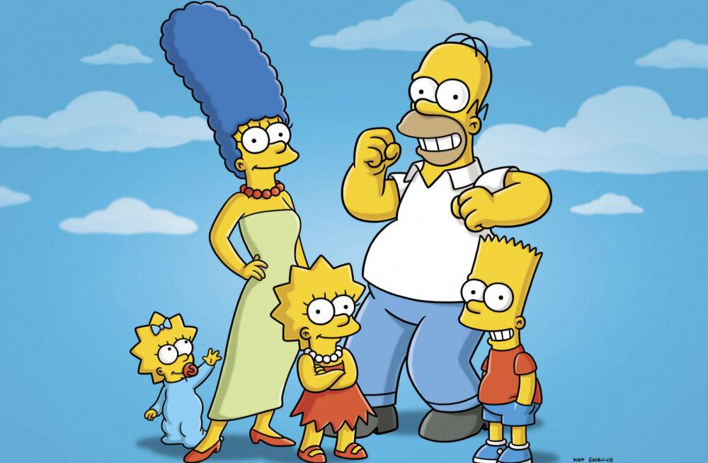 """VIDEO   Fännid on veendunud, et kultusmultikas """"Simpsonid"""" ennustas koroonaviiruse puhangut ette"""