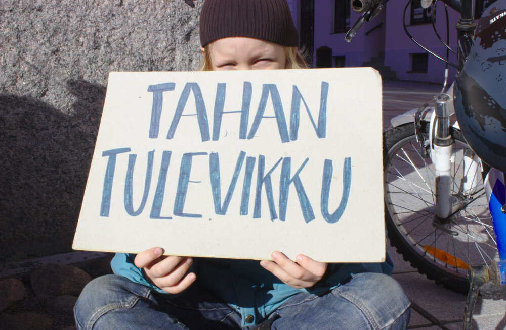 Первая климатическая жалоба Эстонии: молодежь обратилась в суд в связи со строительством маслозавода