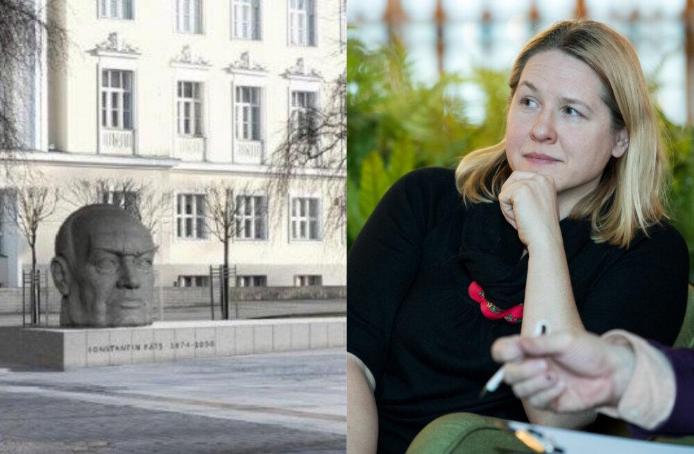 Maarja Vaino: Konstantin Pätsi mälestusmärgi kavand ei kujuta teda piisavalt väärikalt
