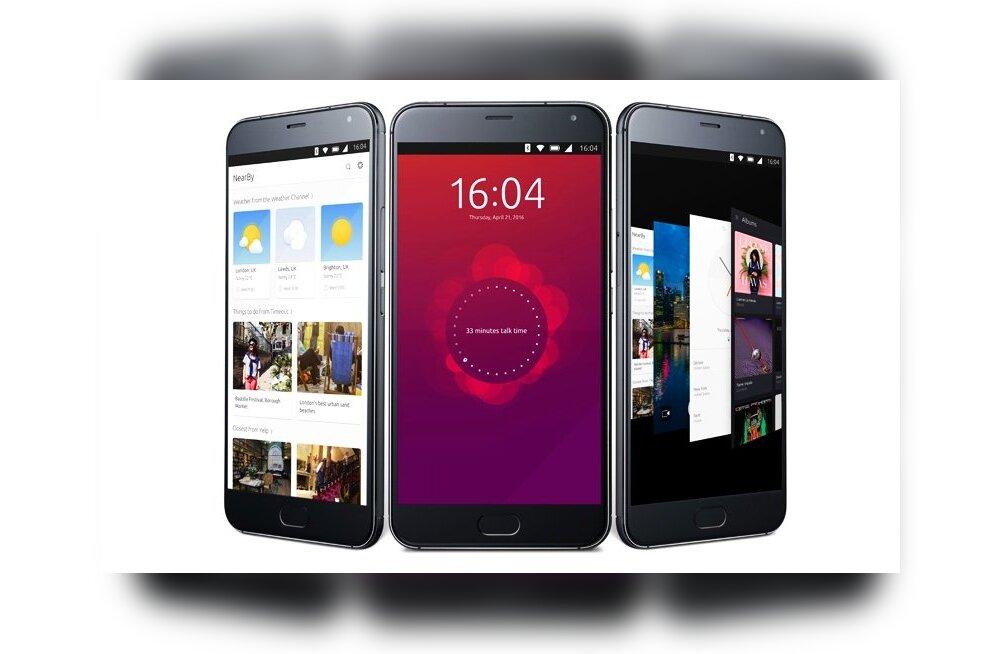 Meizu Pro 5: võimsaim Linuxiga nutitelefon